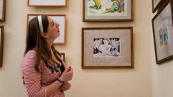 У карикатур на выставке «ВыставКАрикатур» в галерее Мазитова
