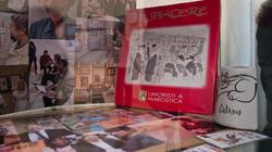 Фрагмент экспозиции. Рассказ об участниках  выставки и их совместных проектах