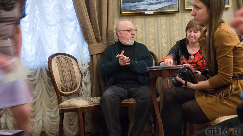 Фото №96867. Борис Вайнер, председатель жюри фестиваля ''Галактика любви''