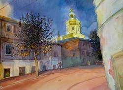 Поздний вечер. 2012. Ильин В.И., 1944, Казань