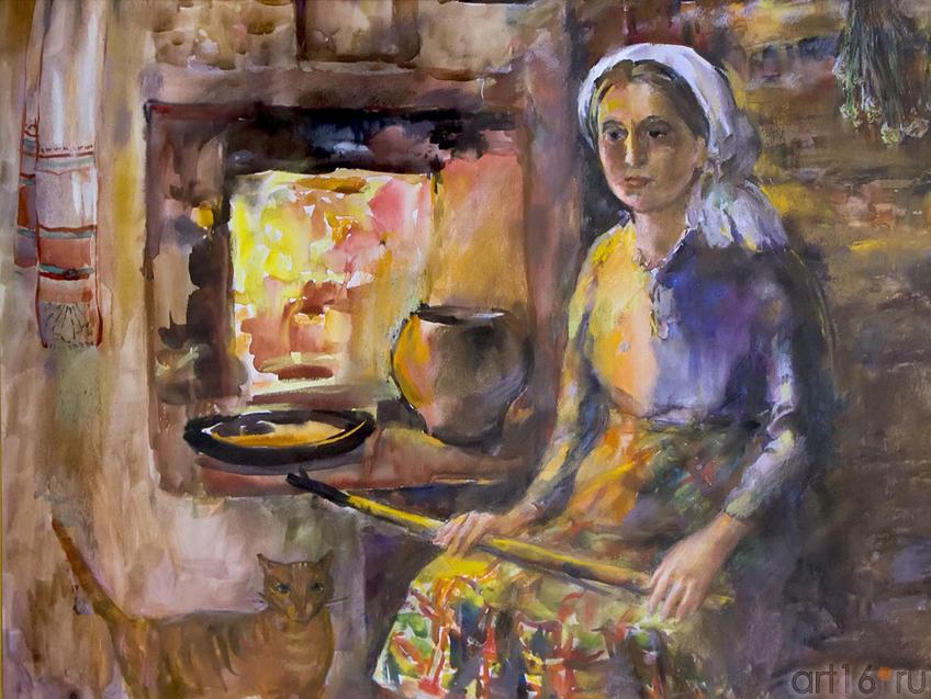 Фото №96990. Печка. 2008. Бердникова Т.М., 1958, Казань