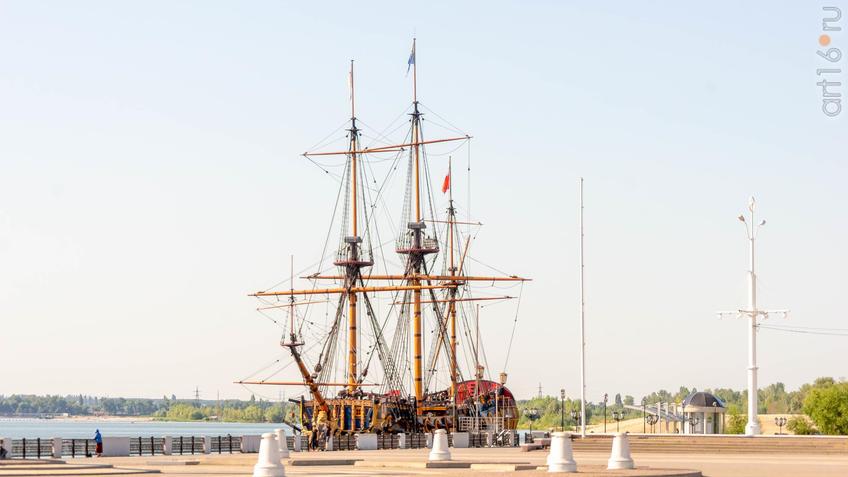 Корабль-музей «Гото Предестинация»::Воронеж 20.07.2019