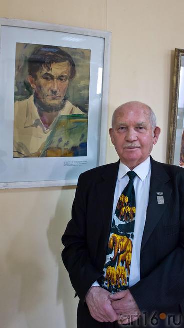 Батраев З.С.::II республиканская выставка акварели