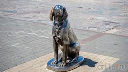 Памятник  «Белый Бим Чёрное ухо»