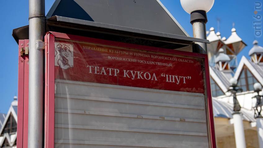 Афиша Театра кукол ʺШутʺ::Воронеж 20.07.2019