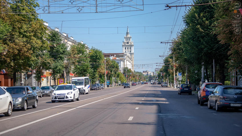 Проспект Революции::Воронеж 20.07.2019