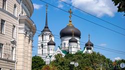 Купола Благовещенского кафедрального собора (Пр. Революции, 14в)