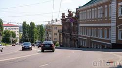 Спуск к Чернавскому мосту, ул. Стеньки Разина