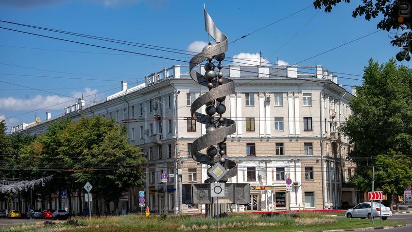 Монумент советской науке::Воронеж 20.07.2019