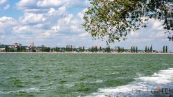 Вид на Воронежское море от парка