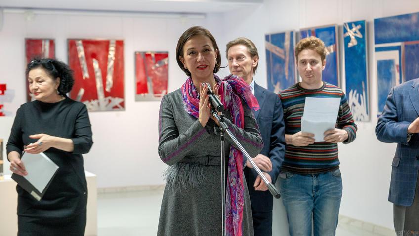 Ирада Хафизяновна Аюпова, Министр культуры РТ::Массимо Гьотти «Гуманность металла»