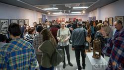 На выставке Массимо Гьотти  «Гуманность металла»