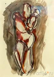 Эскиз. Материнство. 2008 Массимо Гьотти