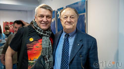 Альфрид Шаймарданов и  Почетный консул Италии Джан Гуидо Бреддо