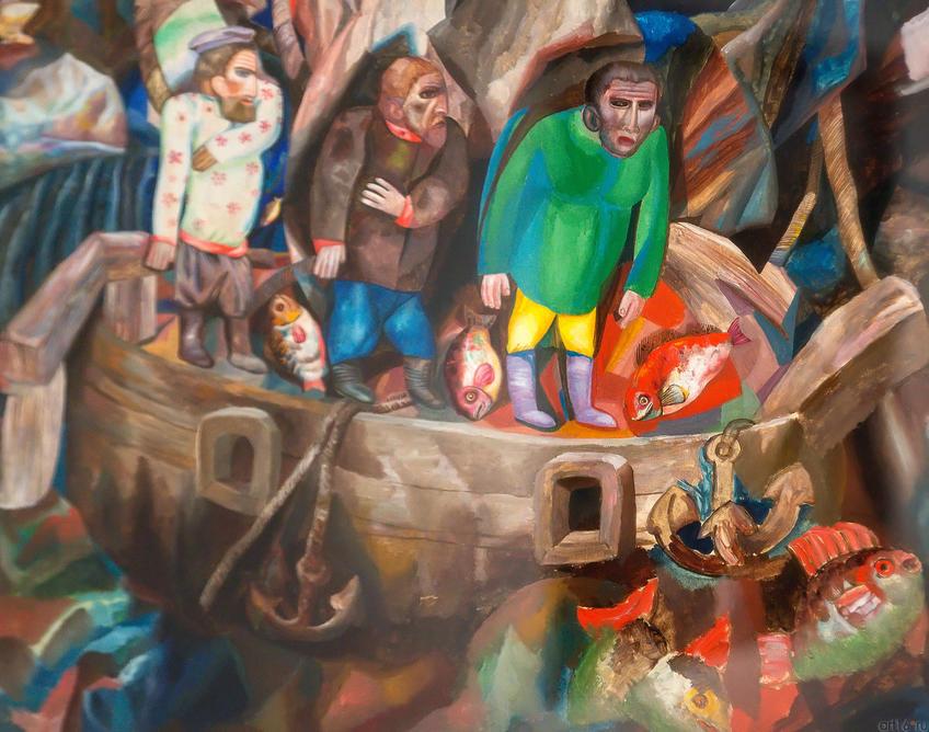 Восток и Запад. 1912-1913. Павел Николаевич Филонов. 1883-1941::Павел Филонов «Глаз видящий, глаз знающий»