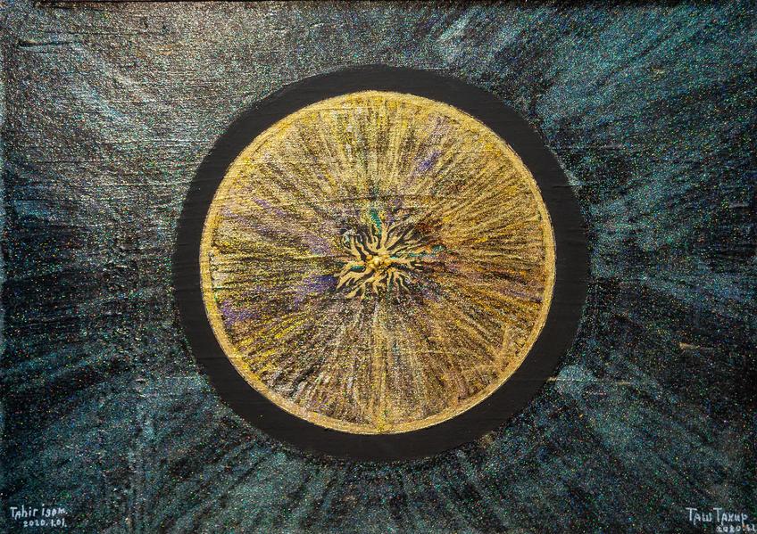 Выставка Тахира Ташева о космосе, времени и...::Ташев Тахир Игамович. Выставка живописи