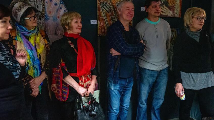 На открытии выставки В.Тимофеева «Погружение в музыку»::Виктор Тимофеев «Погружение в музыку»