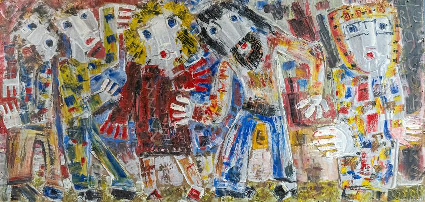 Работа с выставки В.Тимофеева «Погружение в музыку»::Виктор Тимофеев «Погружение в музыку»