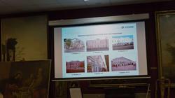 На экране: здания, переданные для реставрации ASG-инвестиционной группе компаний