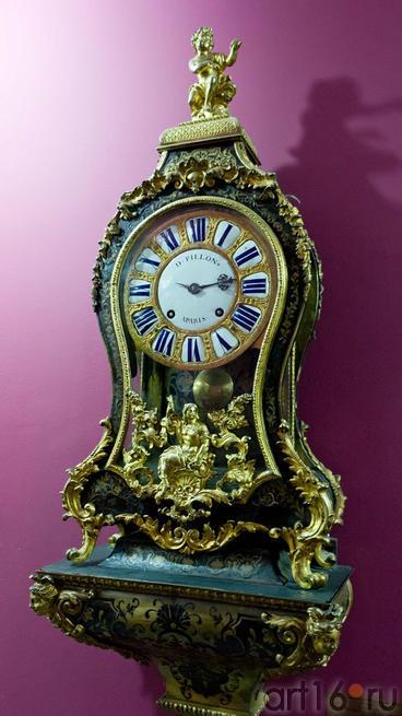 Часы-картель с консолью Янус, Франция, XVIII в.