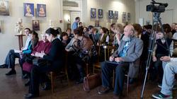 Закрытие выставки А.Леонова ''Молитва в скульптуре''