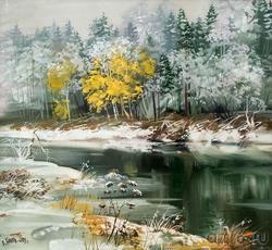 Первый снег. 2003. Евгений Канев