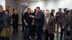 На открытии выставки Олега Иванова