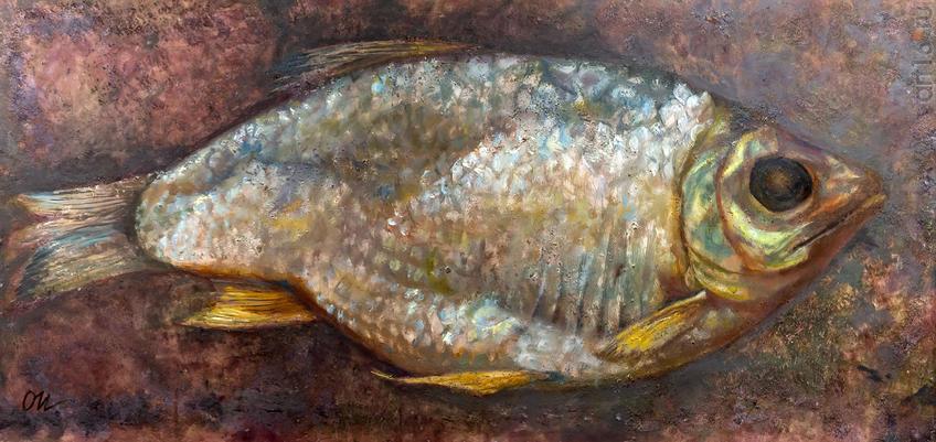 Рыба. Олег Иванов:: Олег Иванов (1961-2020). Выставка