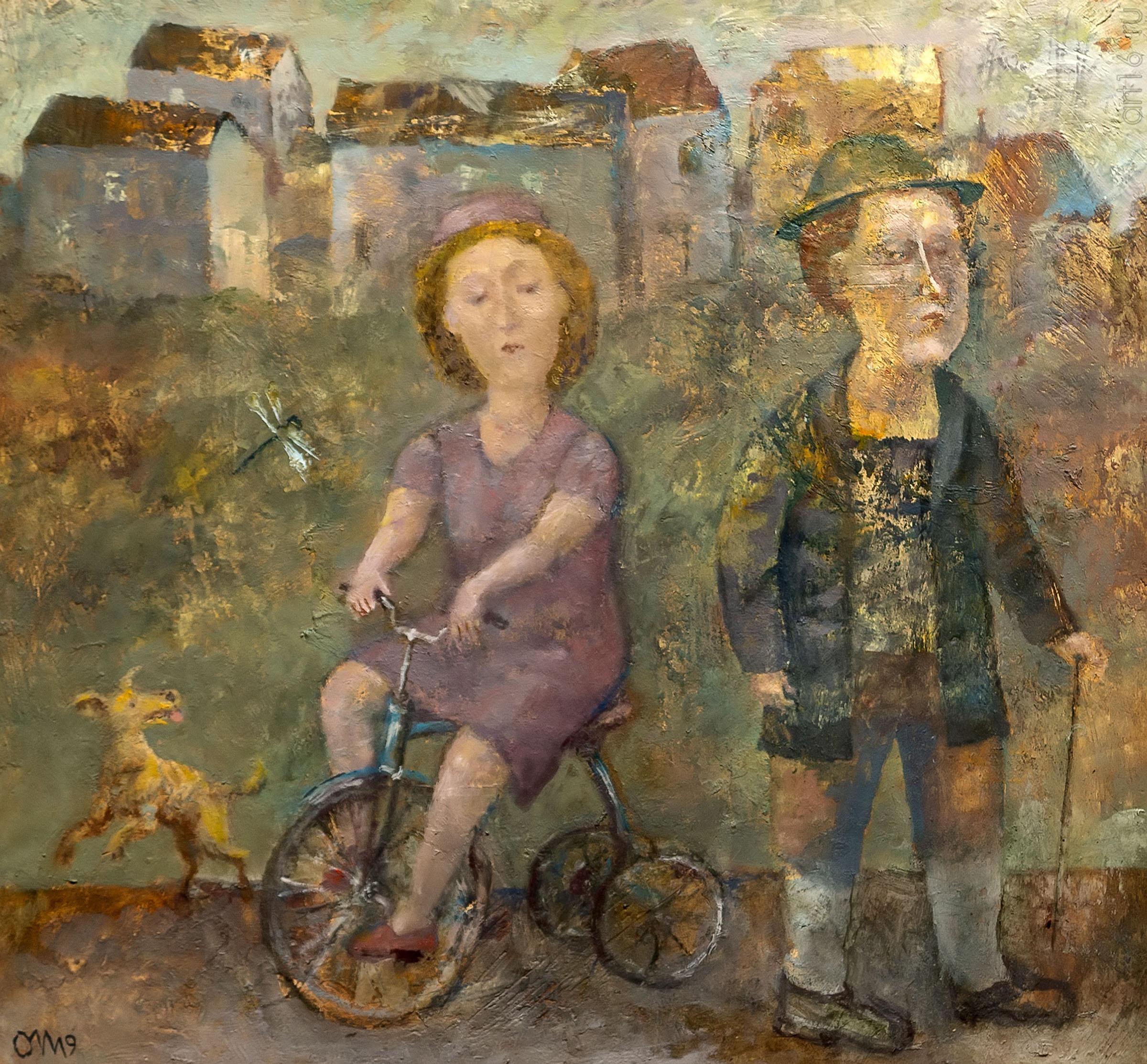 Прогулка. Олег Иванов:: Олег Иванов (1961-2020). Выставка