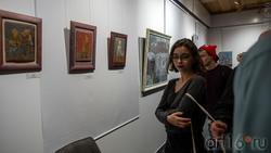 На выставке Олега Иванова