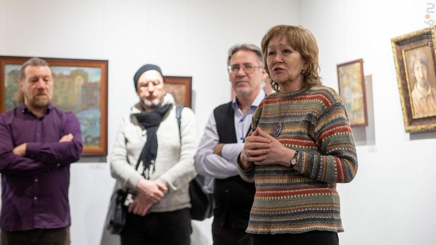 Татьяна Голубцова:: Олег Иванов (1961-2020). Выставка