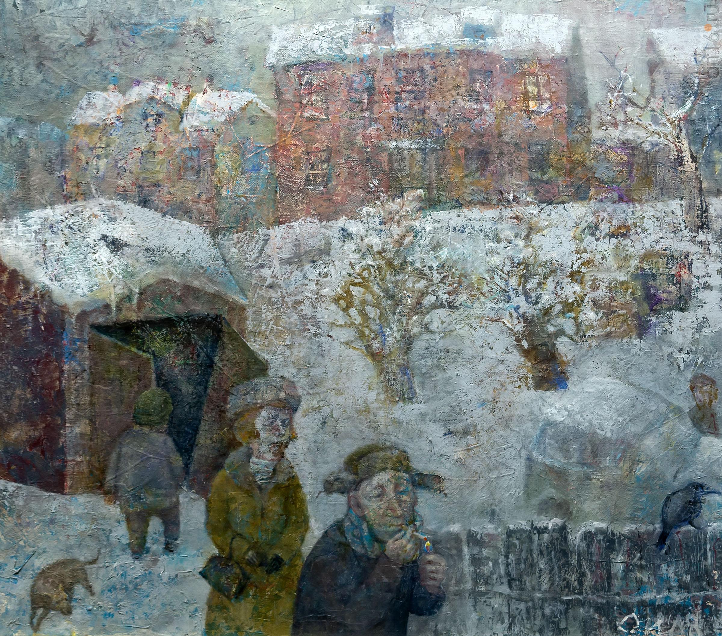 Зима. Олег Иванов:: Олег Иванов (1961-2020). Выставка