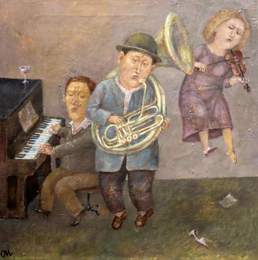 Музыка. Олег Иванов:: Олег Иванов (1961-2020). Выставка