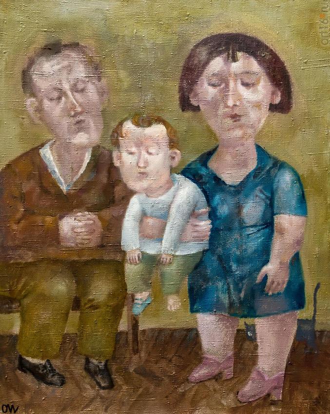 Семейный портрет. Олег Иванов:: Олег Иванов (1961-2020). Выставка