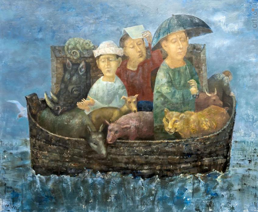 Ковчег. Олег Иванов:: Олег Иванов (1961-2020). Выставка