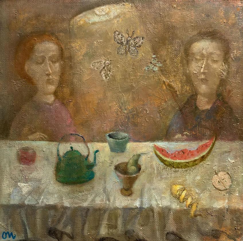 Чаепитие. Олег Иванов:: Олег Иванов (1961-2020). Выставка
