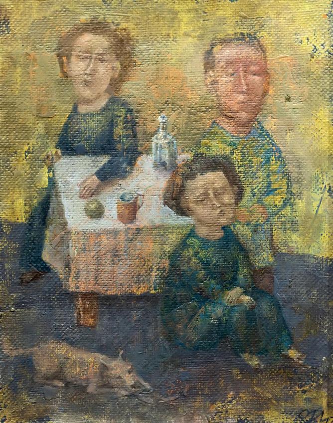 Семья. Олег Иванов:: Олег Иванов (1961-2020). Выставка