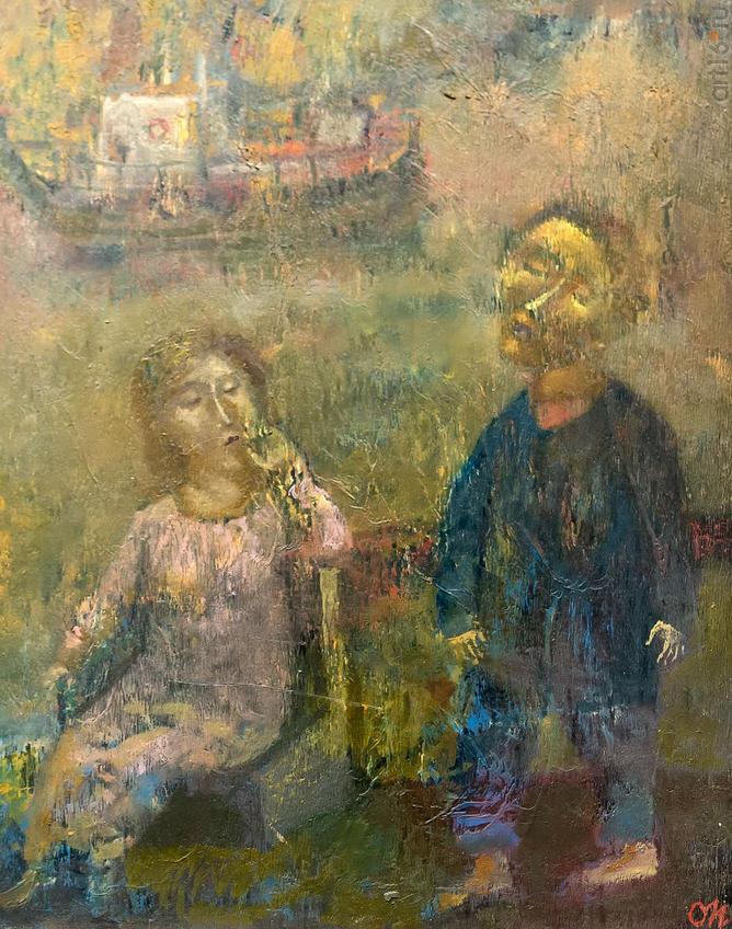Берег. Олег Иванов:: Олег Иванов (1961-2020). Выставка