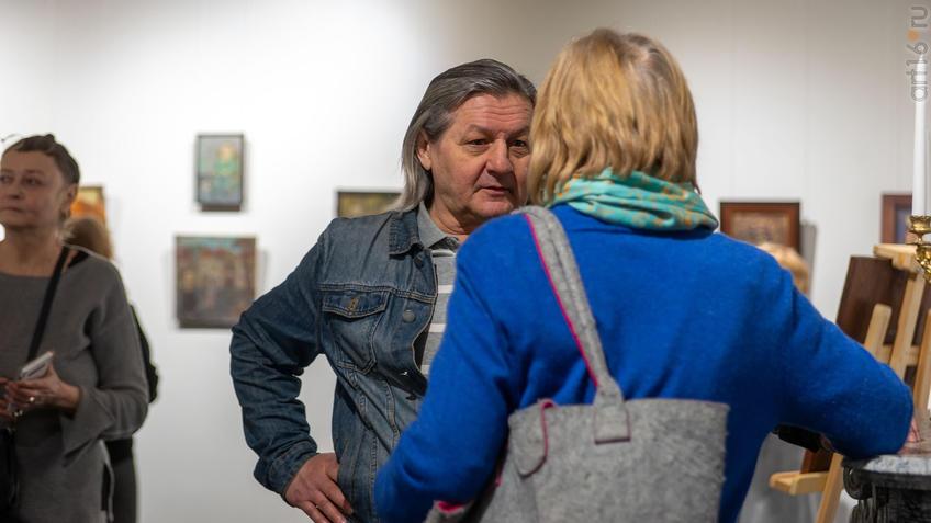 Рустем Салихов:: Олег Иванов (1961-2020). Выставка
