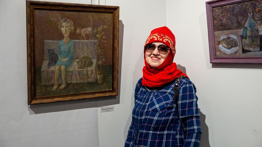 Наиля Ахунова:: Олег Иванов (1961-2020). Выставка