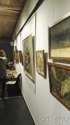 Экспозиция выставки Новикова А.В.