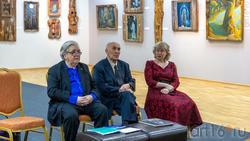 Круглый стол: Марсель Бакиров, Равиль Файзуллин, Милеуша Хабетдинова