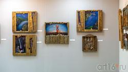 Фрагмент экспозиции выставки Ахсана Фатхутдинова