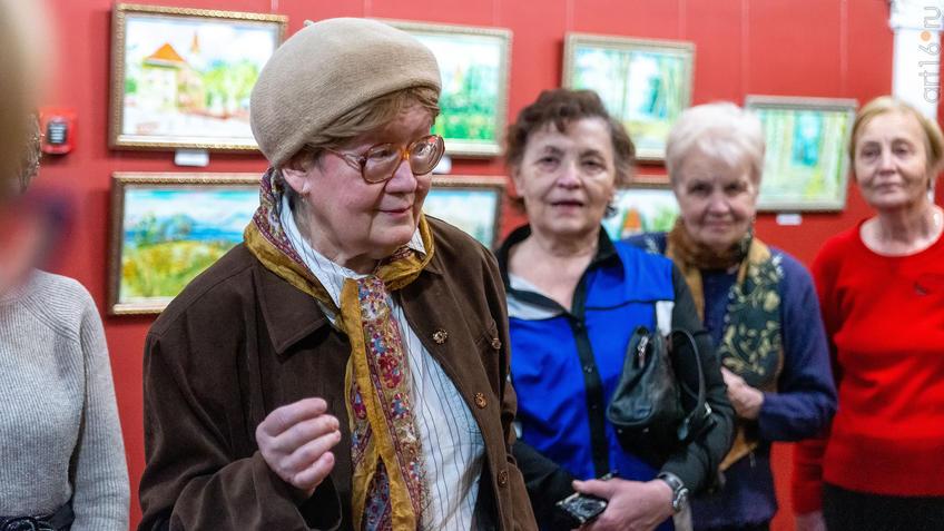 На открытии выставки Альберта Галимова::Альберт Галимов. Выставка «Швейцарские часы»