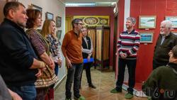 На открытии выставки А.Галимова
