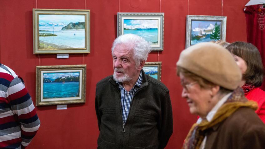На открытии выставки А.Галимова::Альберт Галимов. Выставка «Швейцарские часы»