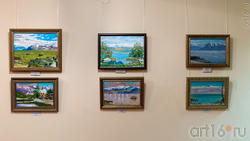 Фрагмент экспозиции выставки Альберта Галимова в Доме-музее Ленина
