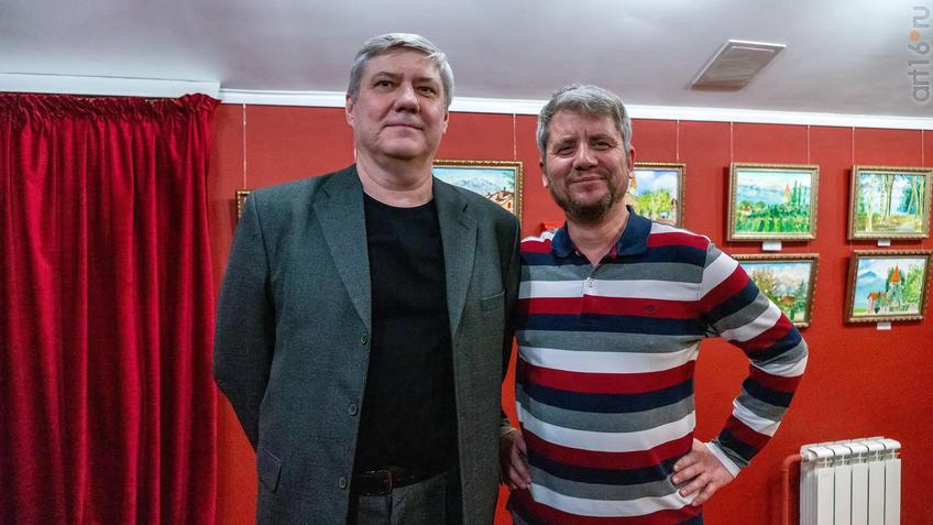 Алексей Назаров, Альберт Галимов::Альберт Галимов. Выставка «Швейцарские часы»