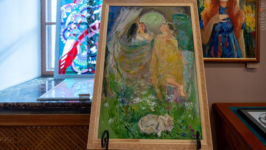 Фросины сны. 2020. Нигматуллина Марина::Выставка Союза художников Республики Татарстан «50 женских ликов»