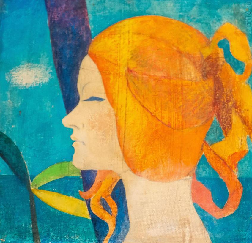 Татьяна. 1985. Голубцов Е.::Выставка Союза художников Республики Татарстан «50 женских ликов»